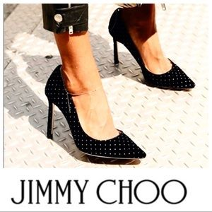 Jimmy Choo studded pumps, excellent condition!